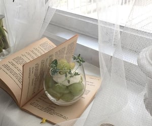 book, aesthetic, and food image