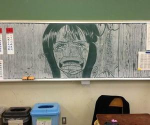 aesthetic, animanga, and blackboard image