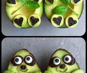 avocado, comida, and delicioso image
