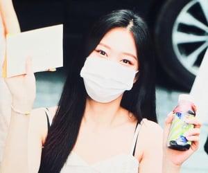 hyunjin, loona, and girls image