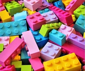 colorful, legos, and toys image