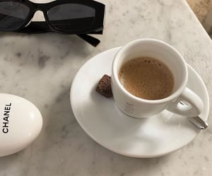 coffee, aesthetic, and chanel image