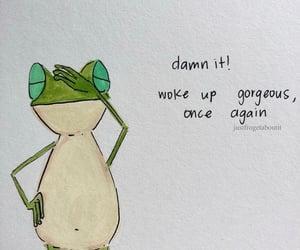 art, mood, and frog image