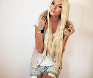 blonde, alena shishkova, and model image