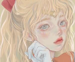 aesthetic, drawing, and anime girl image