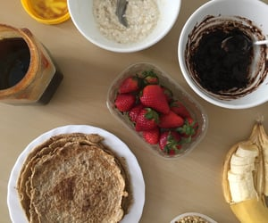 breakfast, brunch, and chocolate image