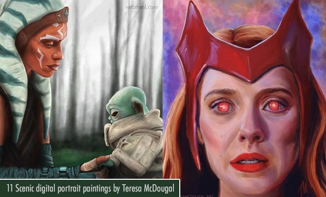 art, digital art, and digital painting image
