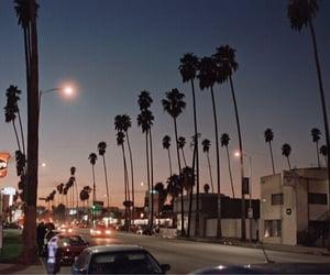 california, city, and night image