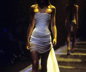 Alexander McQueen, dress, and mummy image