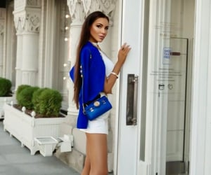 blue, chic, and classy image