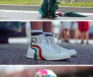 aesthetic, formula 1, and rainbow image