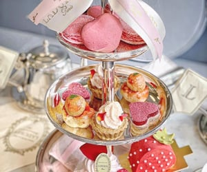 afternoon tea, cake, and cupcake image