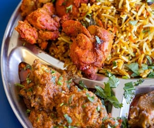 curry, indian food, and asian food image