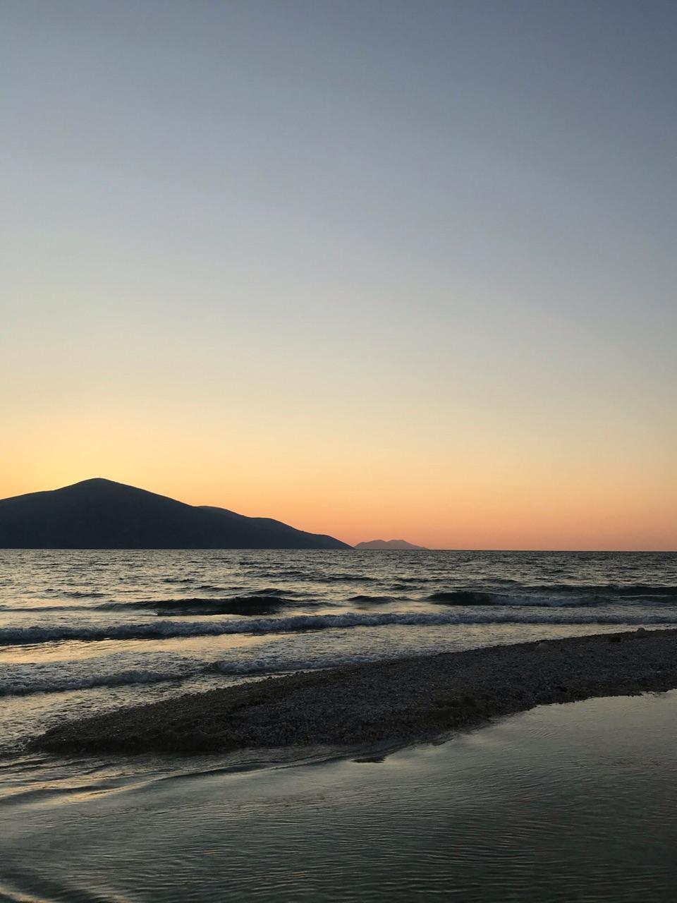 beach, calm, and life image