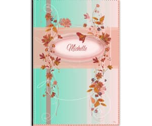 a5, notebook, and pink image