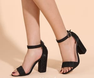 ankle strap, summer, and street wear image