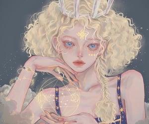 aesthetic, lion, and anime girl image