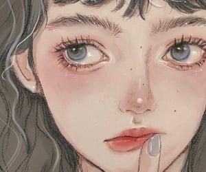 aesthetic, anime girl, and art image