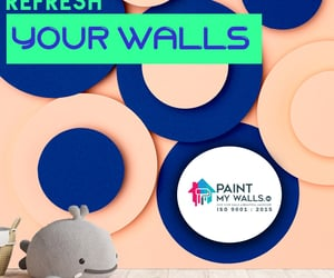 wall paint, interior wall painting, and exterior wall painting image