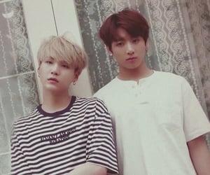 bts, yoongi, and yoonkook image