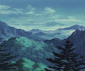 scenery, 90's, and anime image