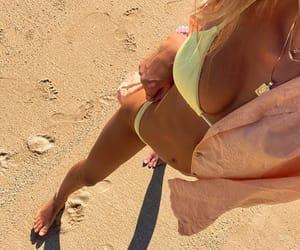 beach, beachwear, and fashion image