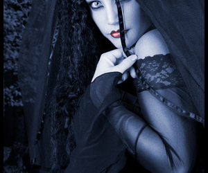 bride, female model, and goth image