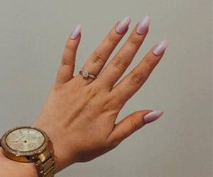 engagement, mk, and nails image
