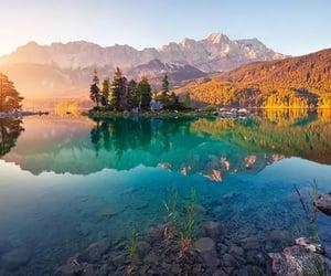 beautiful, germany, and lake image