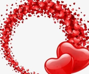 be mine, beautiful, and hearts image
