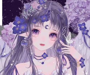 dreamy, aesthetic, and anime pfp image