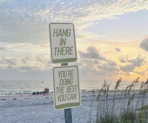 beach, encouragement, and inspiration image