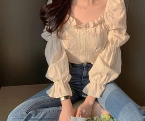 blouse, blusa campesina, and off sholders blouse image