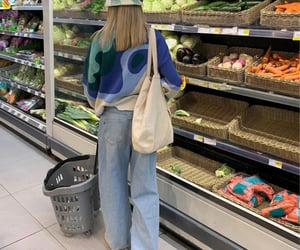 grocery shopping, life, and everyday look image