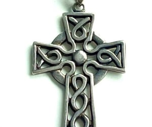 etsy, celtic cross, and celtic jewelry image