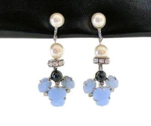 etsy, vintage bride, and screw back earrings image