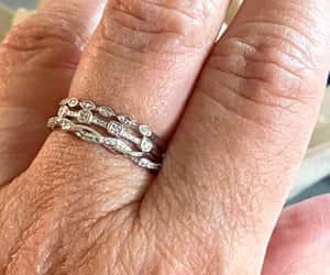 etsy, wedding jewelry, and estate diamond ring image
