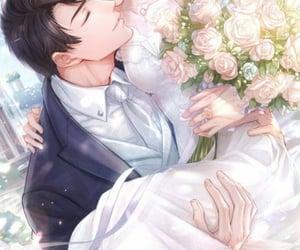 anime, story, and wedding image