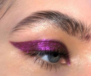 purple glow.