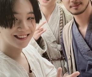 jungkook, bts, and jin image