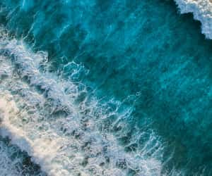 sea, nature, and wallpaper image