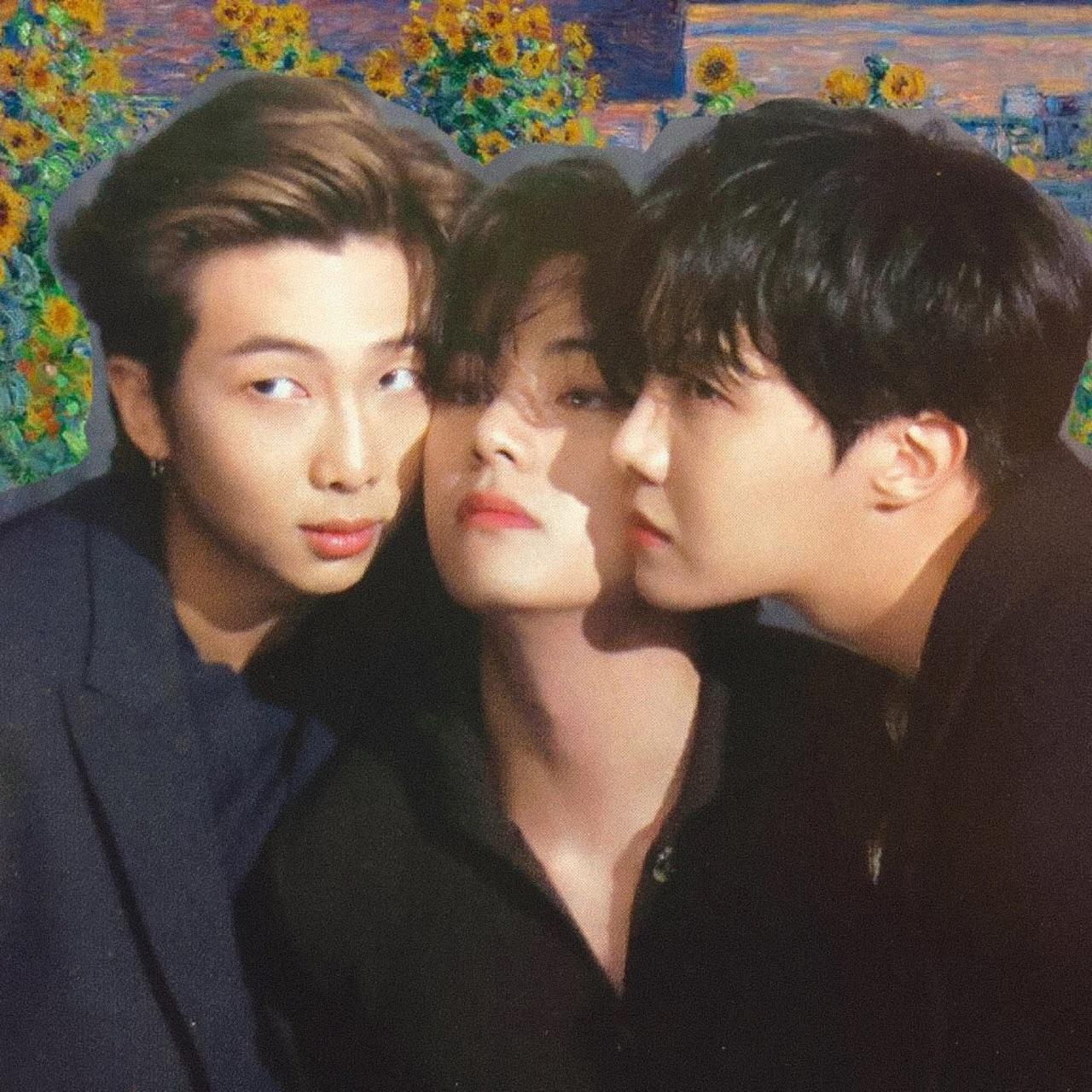 bts, namjoon, and taehyung image