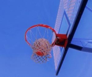 ball, Basketball, and エモい image