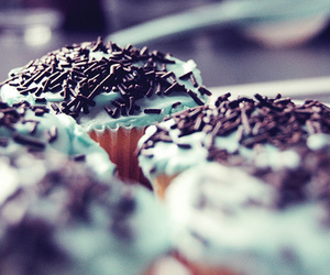 cakes, cupcakes, and sprinkles image