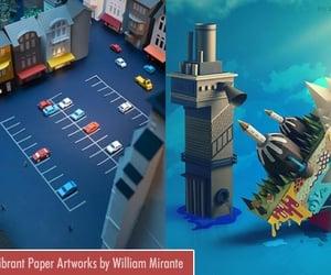 art, paper art, and paper artwork image