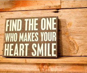 love, smile, and heart image