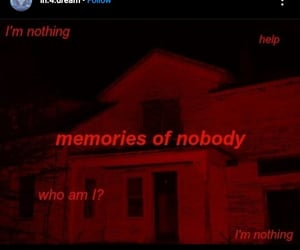who am i?, weirdcore, and memories of nobody image