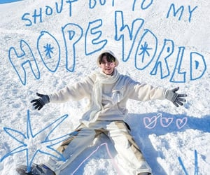kpop, hoseok, and winter image