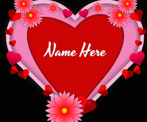 love card with name, love heart pictures names, and love heart pic write name image