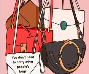bags, quote, and sasaelebea image
